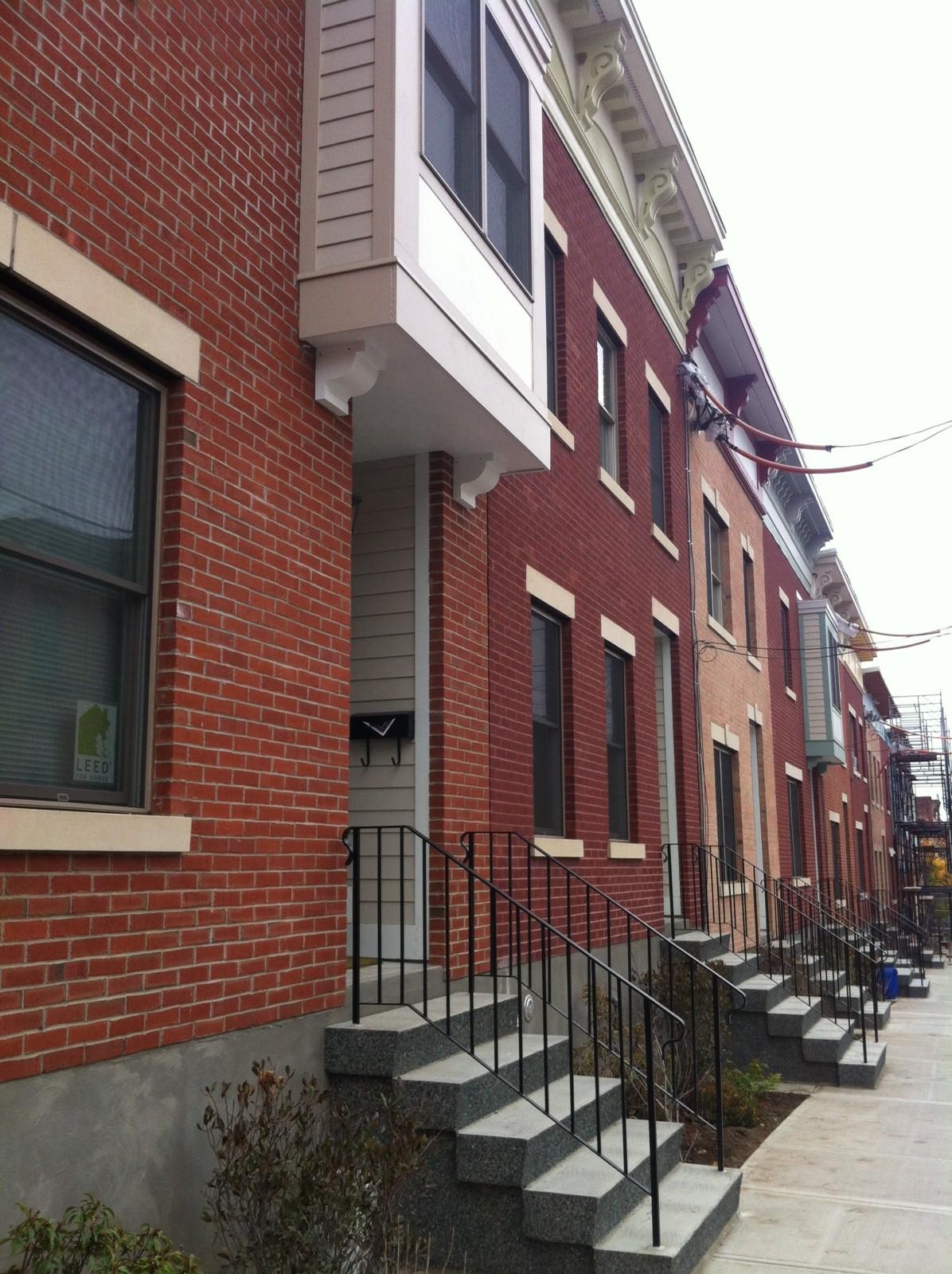 Alexander Street, Albany NY south end habitat homes