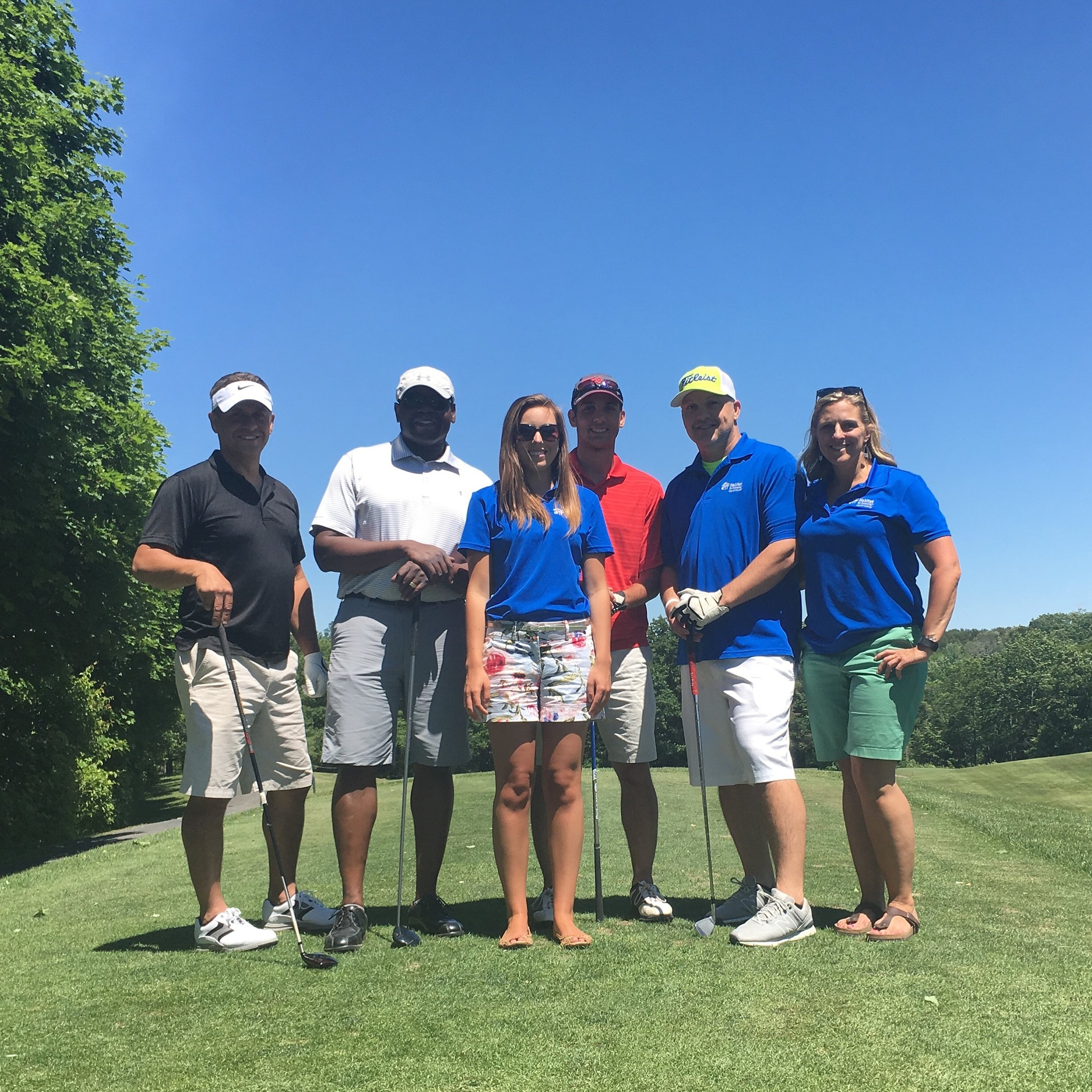 Plan a golf outing