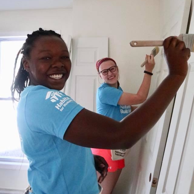 volunteer albany habitat women build
