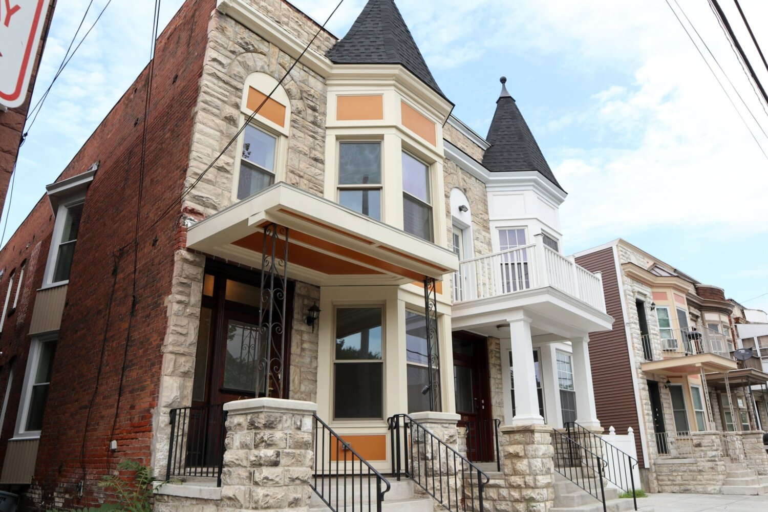 Recent Habitat homes in North Central Troy