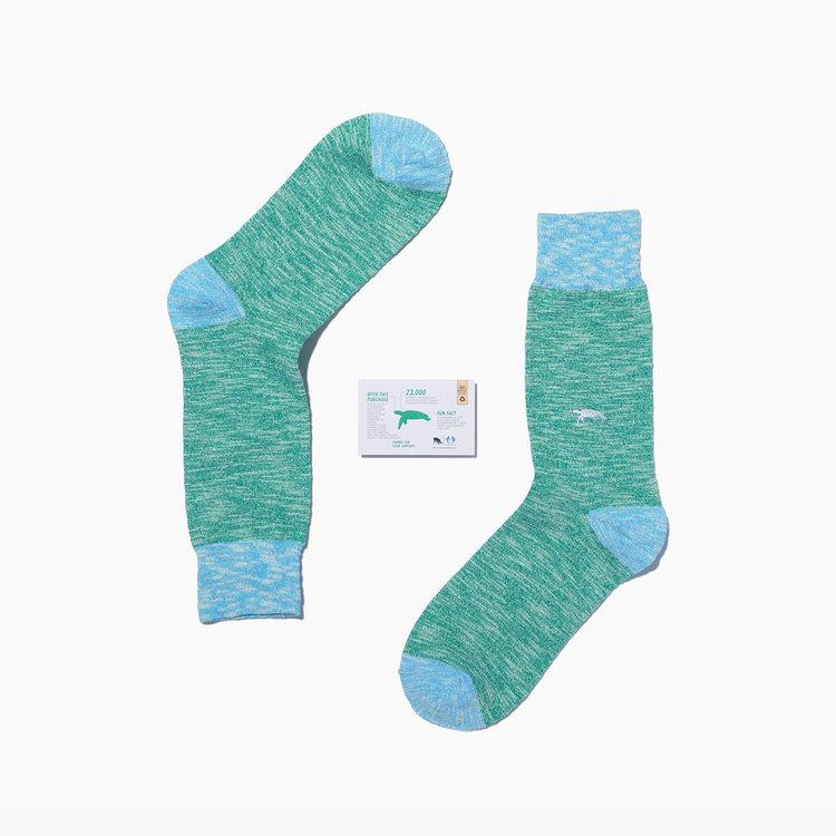 Hawksbill turtle socks.jpg