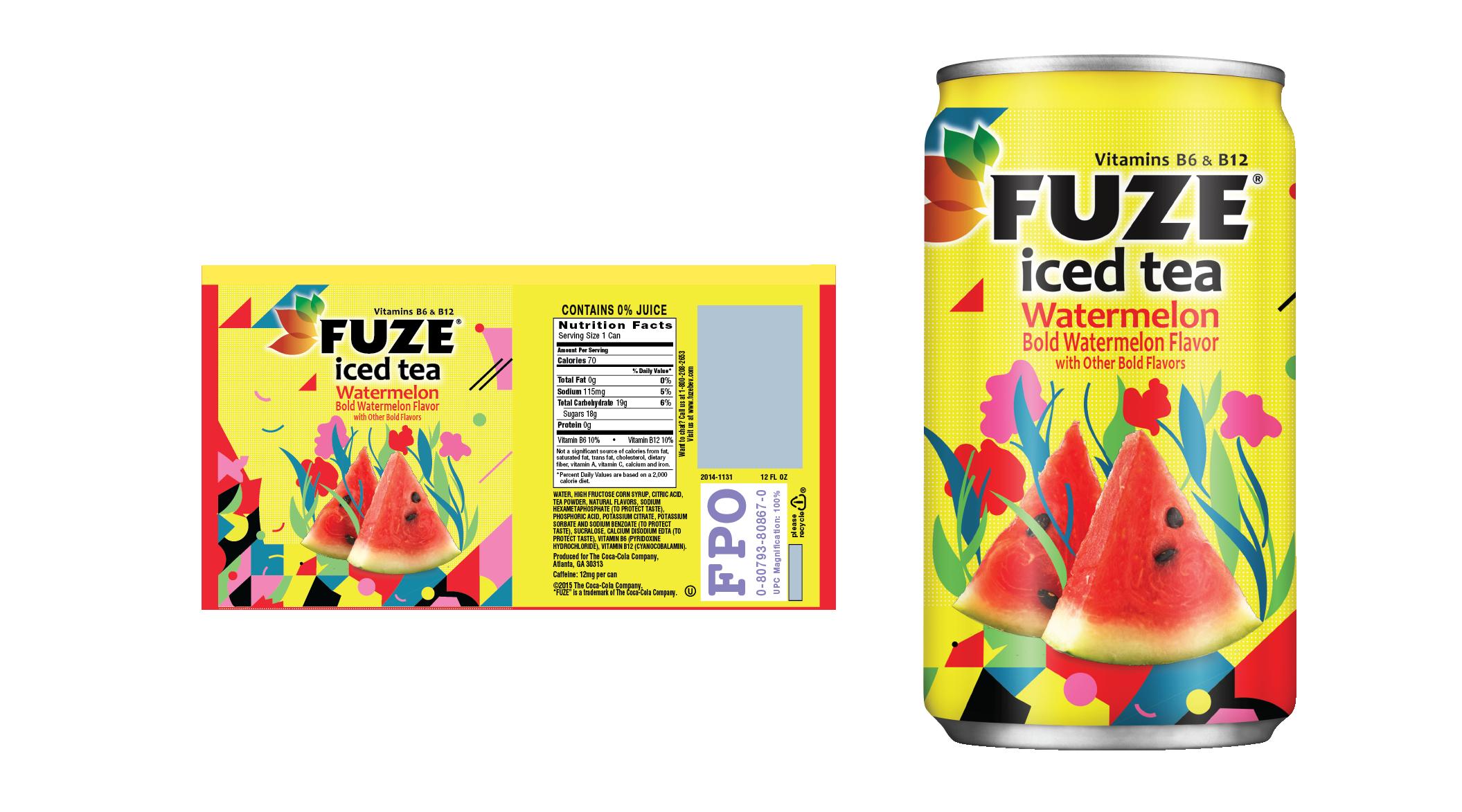 Fuze Ice Tea — SABA NIAKI