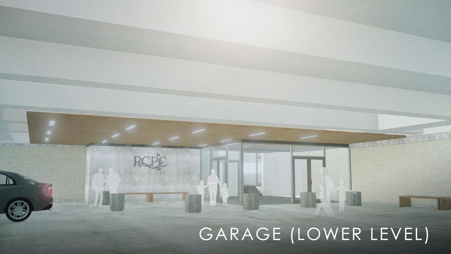 Lower Level Garage