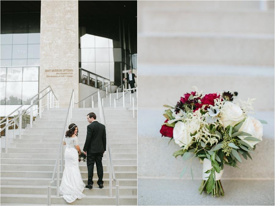 mint museum wedding