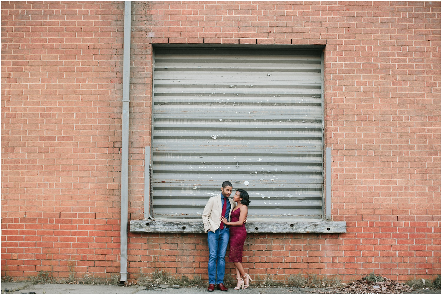 Uptown Charlotte Engagement Session | Amore Vita Photography_0003.jpg