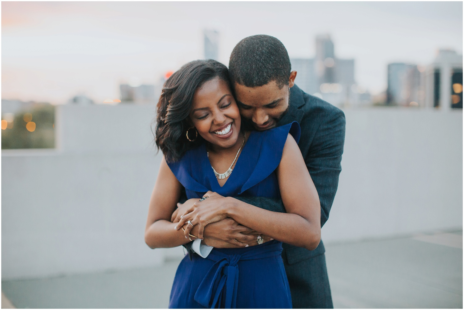 Uptown Charlotte Engagement Session | Amore Vita Photography_0008.jpg