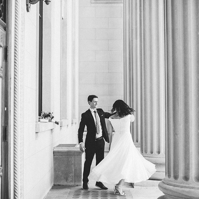 Courthouse wedding bliss ✨ #amorevitaphotos #courthousewedding #intimatewedding