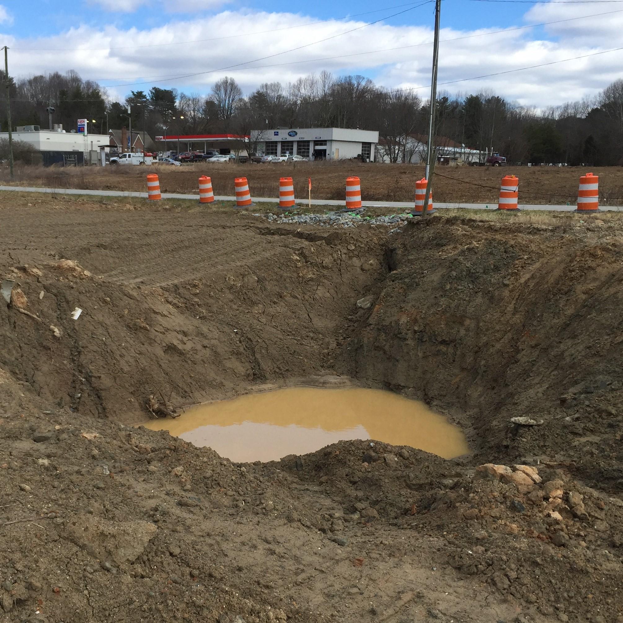 Storm Sewer Emergency Repair, Jonesville