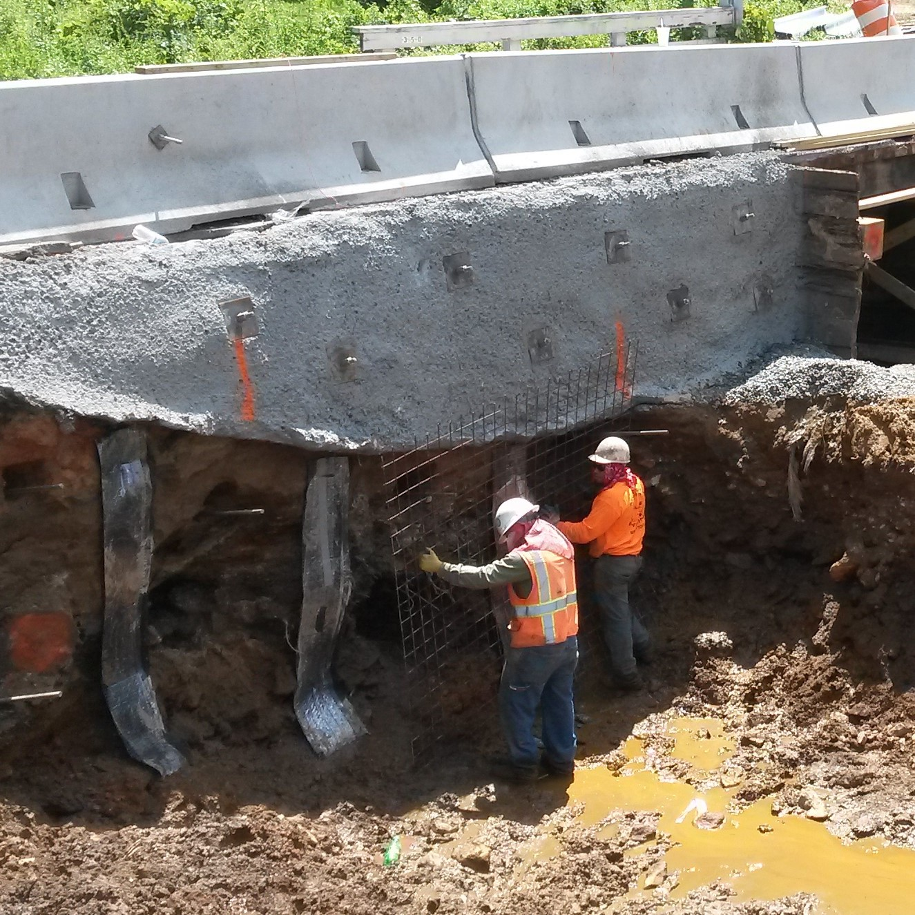 little horse creek meredith piling and shoring
