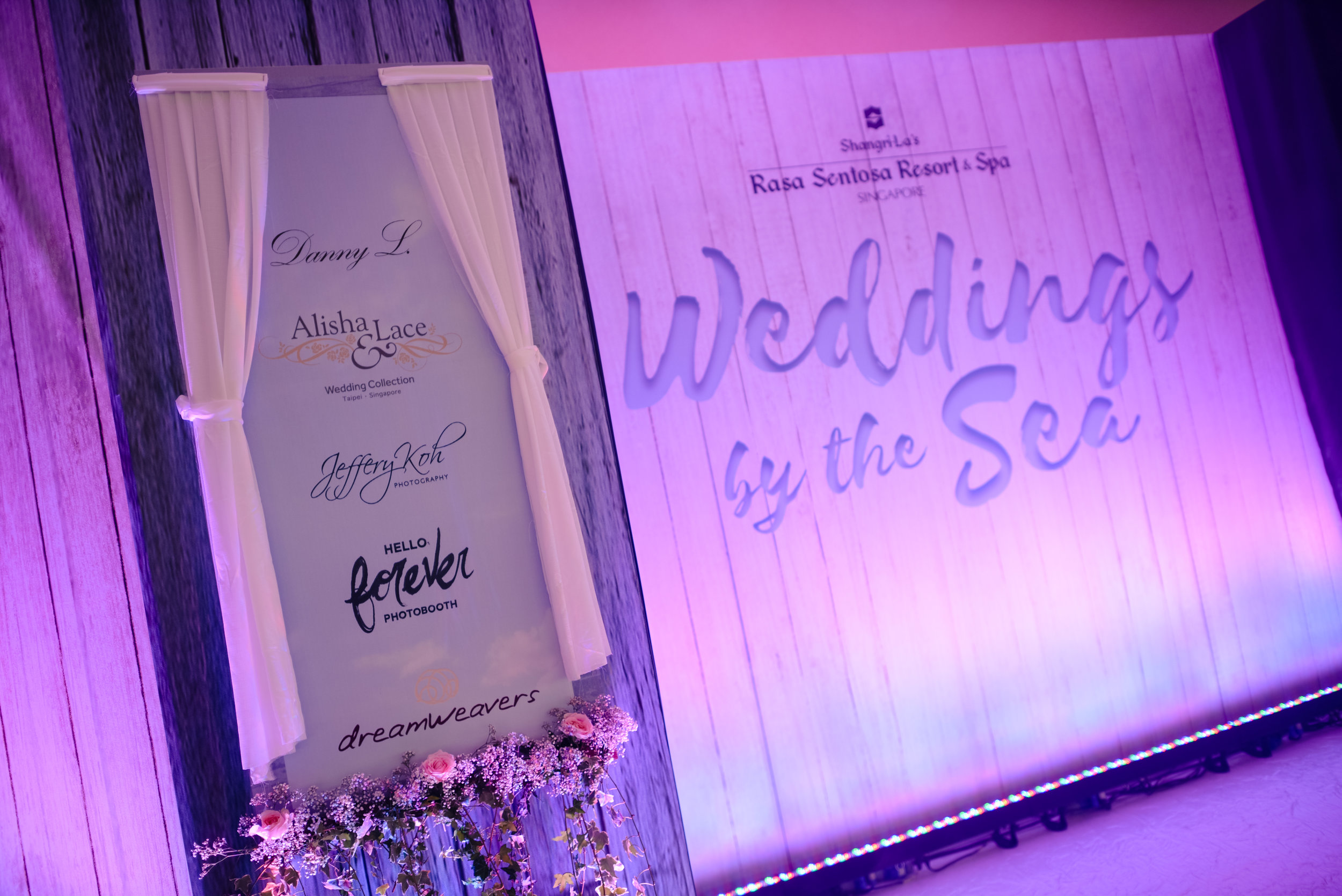Shangri-La's  Rasa Sentosa  Resort Wedding Show 2016