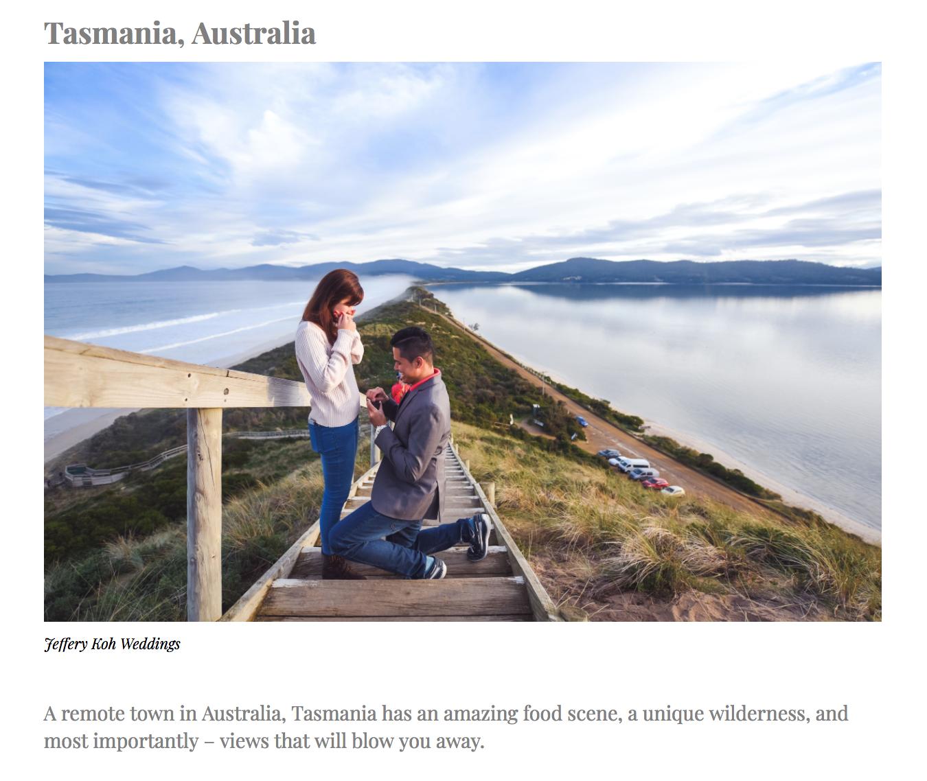 Article ;  40 Breathtaking Overseas Pre-Wedding Shoot You Must Consider by IdealWeddings