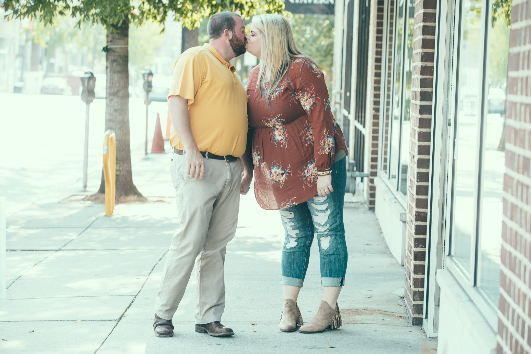 Laura and Chase's engagement photography in Birmingham, Alabama by David A. Smith of DSmithImages Wedding Photography, Portraits, and Events
