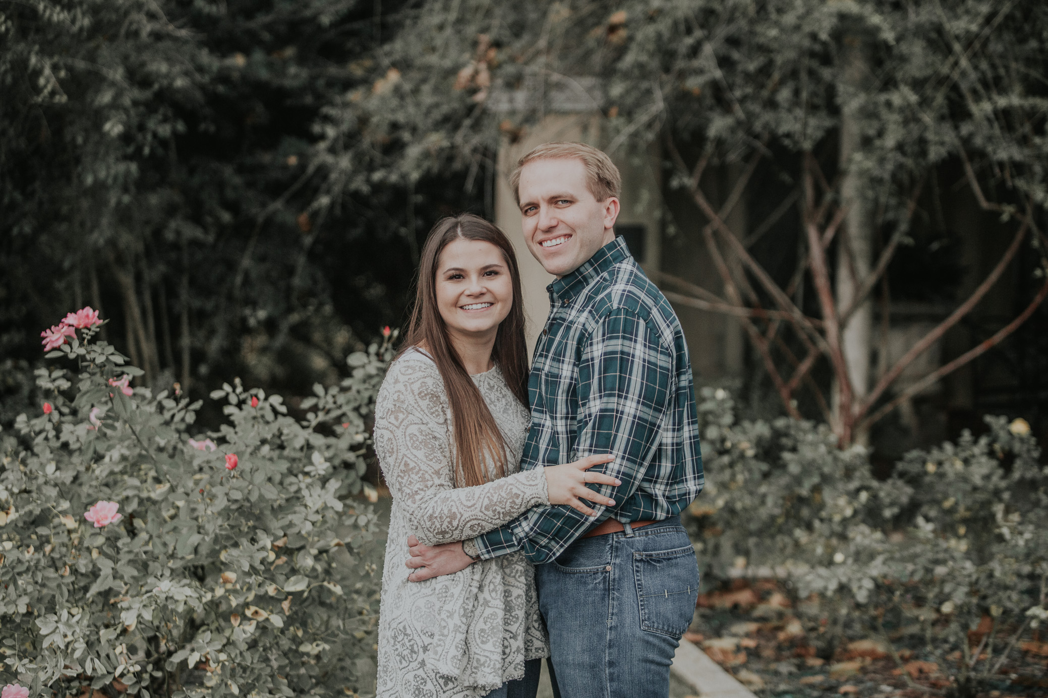Birmingham, Alabama Engagement photography with Elise and Neil at the Birmingham Botanical Gardens on November 18th, 2017 by David A. Smith of DSmithImages Wedding Photography, Portraits, and Events.