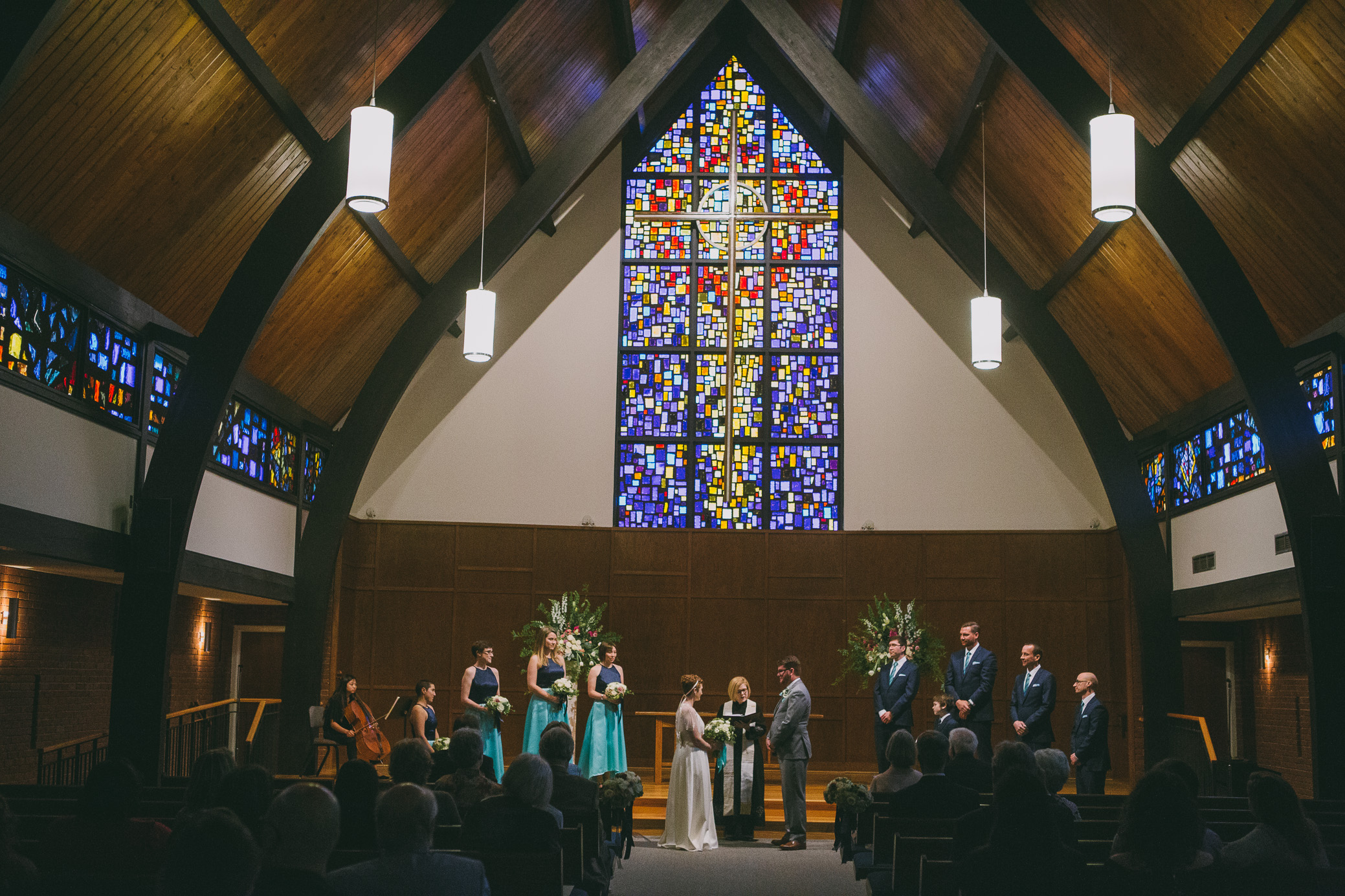 Wedding photography at Grace Presbyterian Church in Tuscaloosa, Alabama on March 10th, 2018 by David A. Smith of DSmithImages Wedding Photography, Portraits, and Events in the Birmingham, Alabama area.