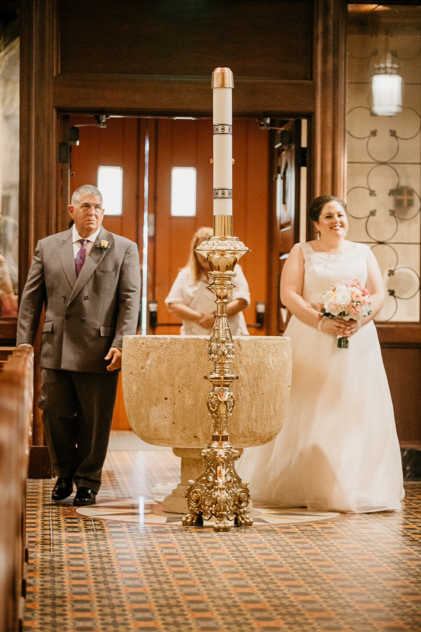 Wedding photography in St. Augustine, Florida at the Cathedral Basilica and The Treasury on July 13th, 2018 by David A. Smith of DSmithImages Wedding Photography, Portraits, and Events in the Birmingham, Alabama area.
