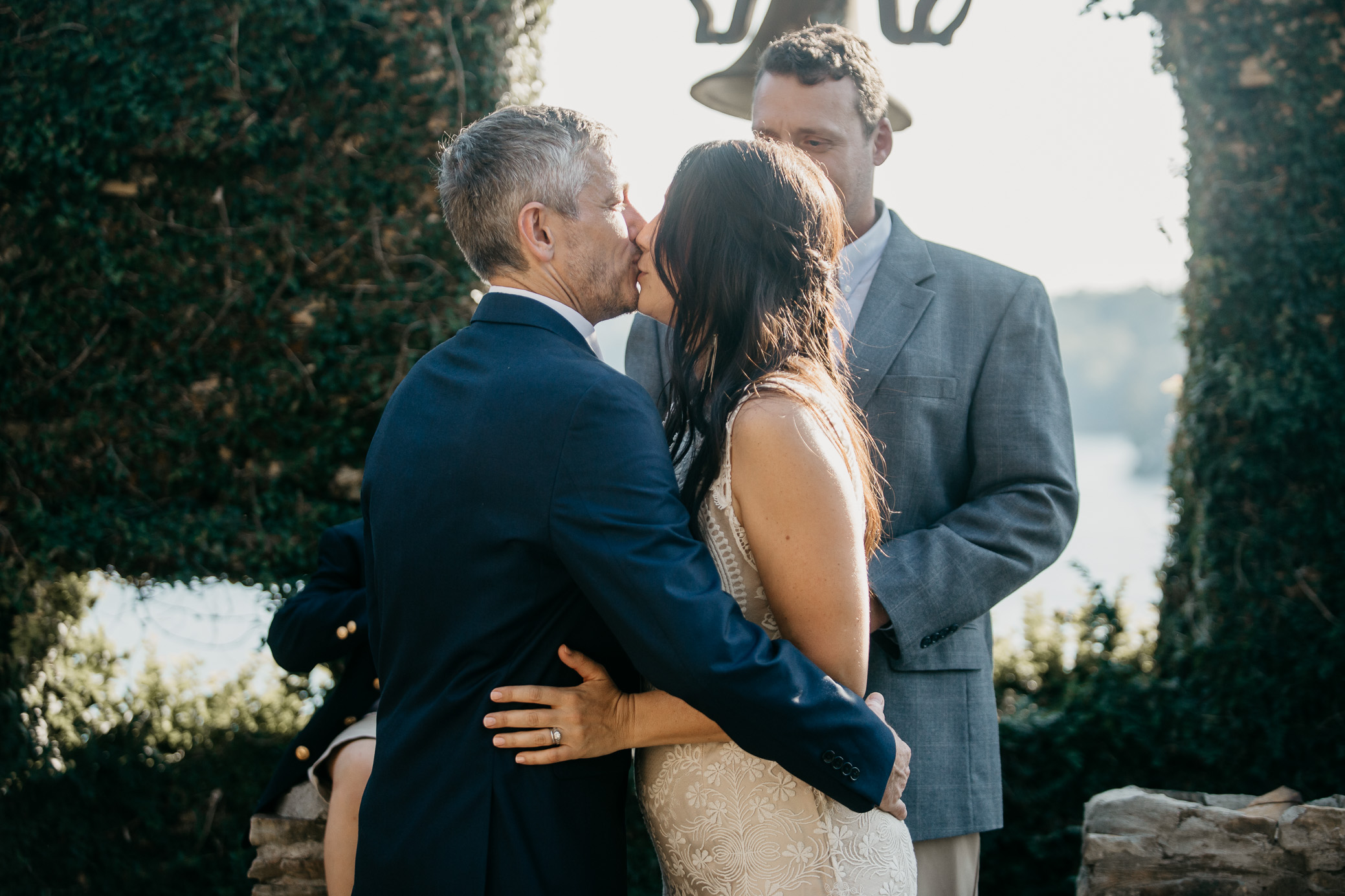 Tuscaloosa, Alabama wedding photography at Whispering Cliffs / NorthRiver Yacht Club on October 7th, 2018 by David A. Smith of DSmithImages Wedding Photography, Portraits, and Events in the Birmingham, Alabama area.