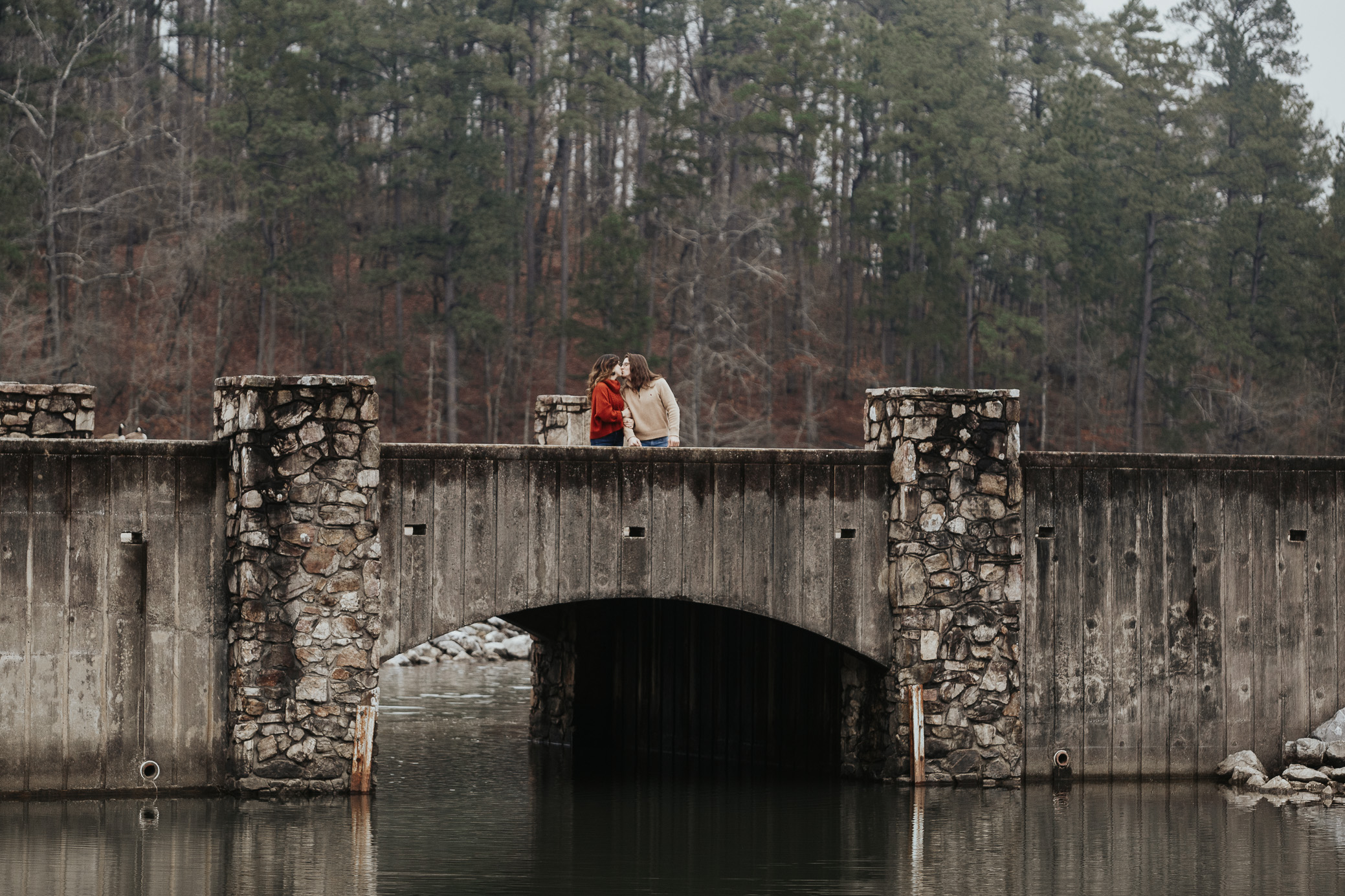 Oak Mountain Alabama engagement photography in Pelham, Alabama by David A. Smith of DSmithImages Wedding Photography, Portraits, and Events, a wedding photographer in Birmingham, Alabama
