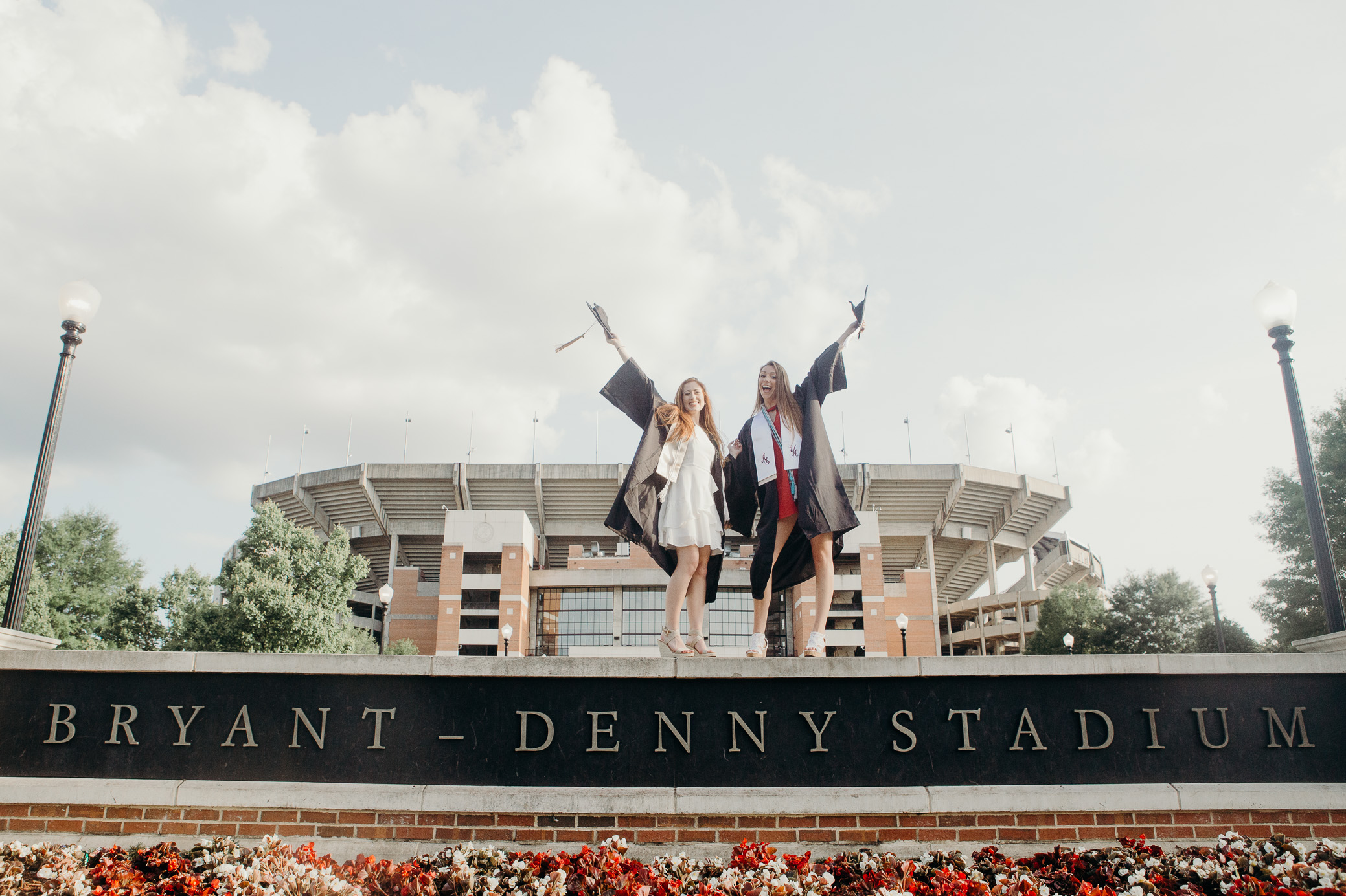 University of Alabama Graduation Portraits in Tuscaloosa, Alabama by David A. Smith of DSmithImages Wedding Photography, Portraits, and Events in the Birmingham, Alabama area