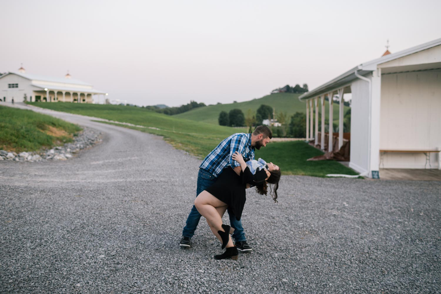Nashville Tennessee Engagement Photography at the White Dove Barn by David A. Smith of DSmithImages Wedding Photography, Portraits, and Events, a wedding photographer in Birmingham, Alabama