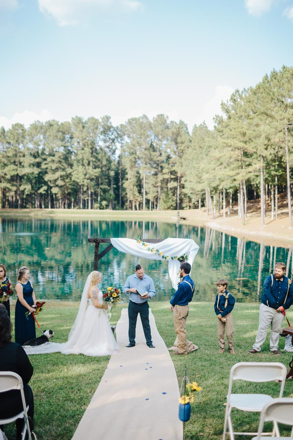 Alabama Wedding Photography at Starwood II in Jemison by David A. Smith of DSmithImages Wedding Photography, Portraits, and Events, a wedding photographer in Birmingham, Alabama.