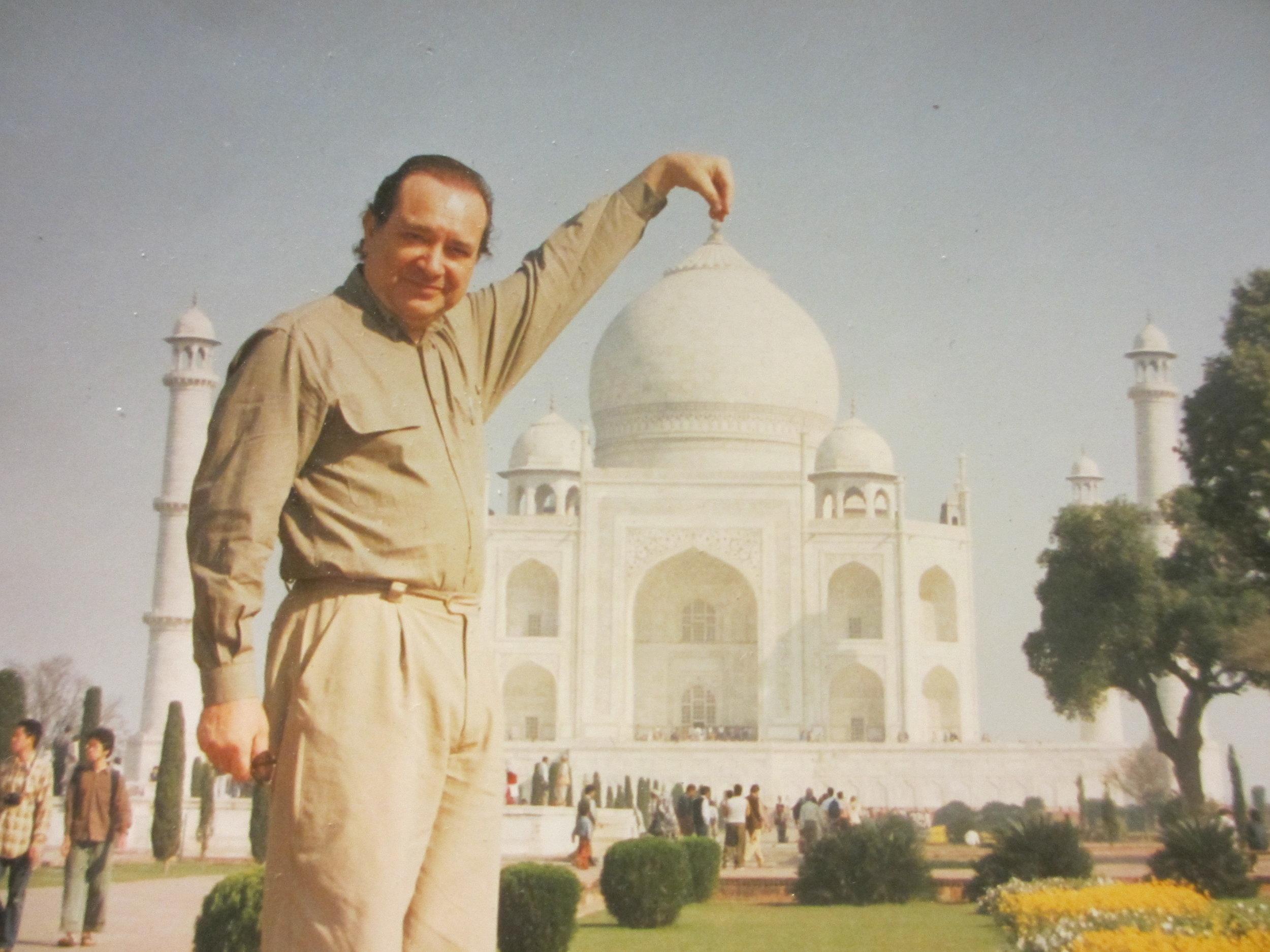 Robert in India