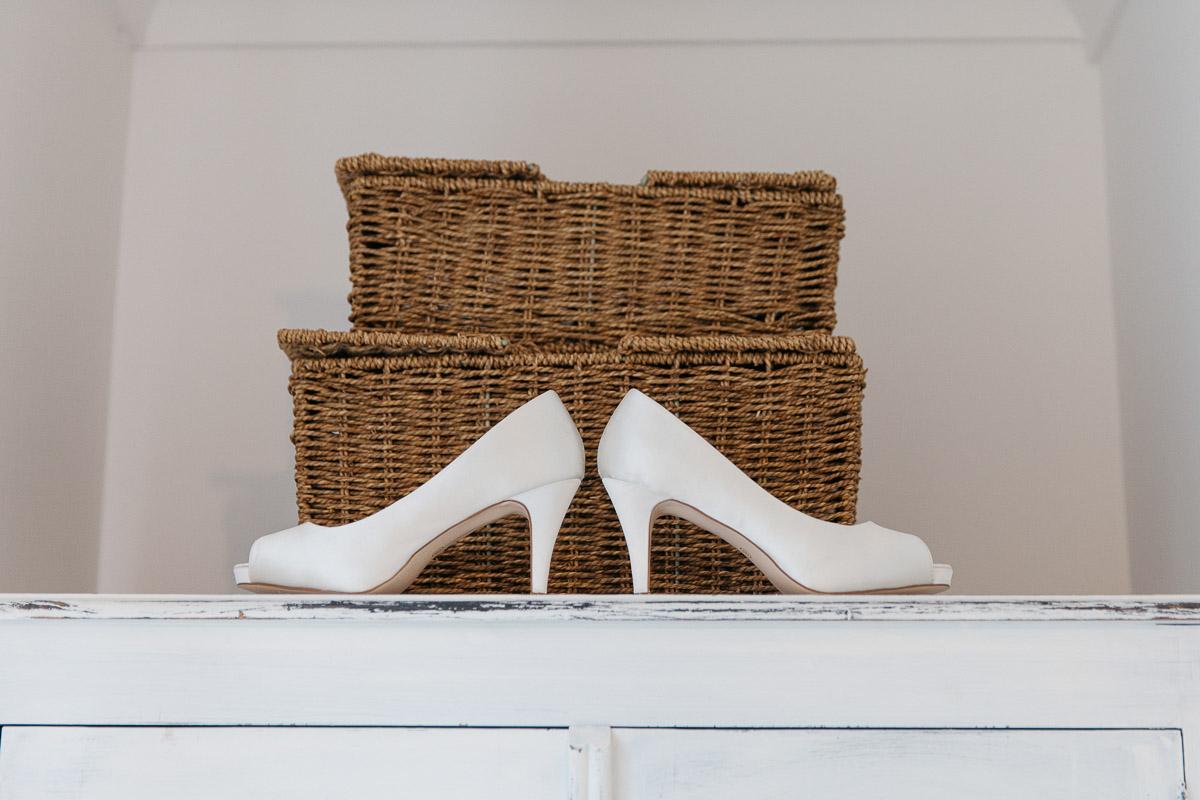 Bridal Shoes Alternative Wedding Photography