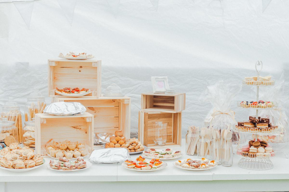 DIY Afternoon Tea Back Garden Wedding, Newark