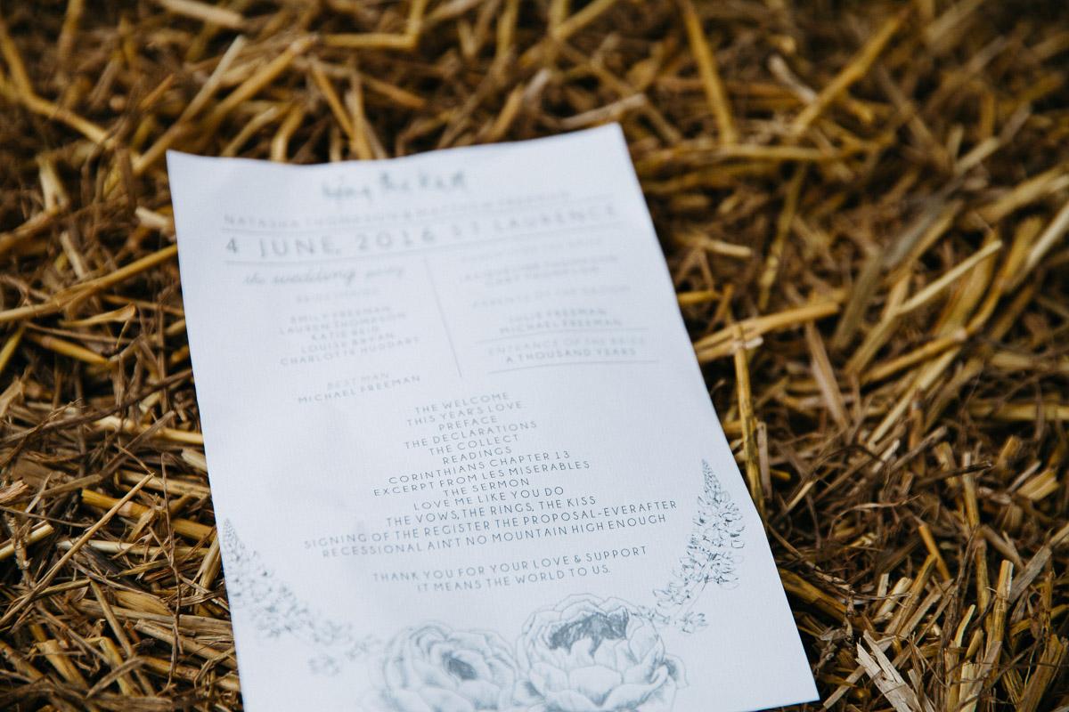 DIY Back Garden Wedding, Newark