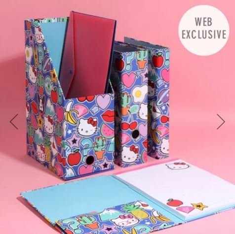 Hello Kitty for Paperchase stationary