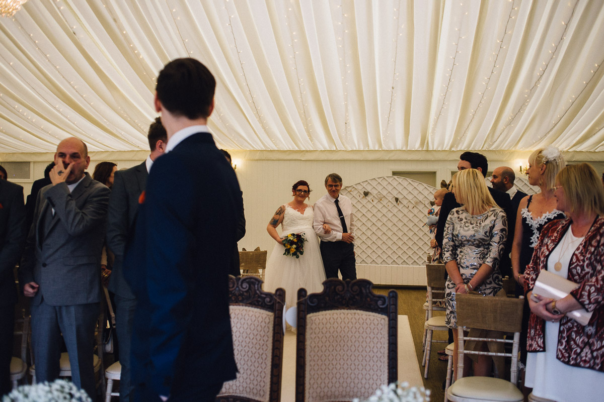 Rustic Autumnal Wedding Fennes Essex - Alternative Wedding Photography