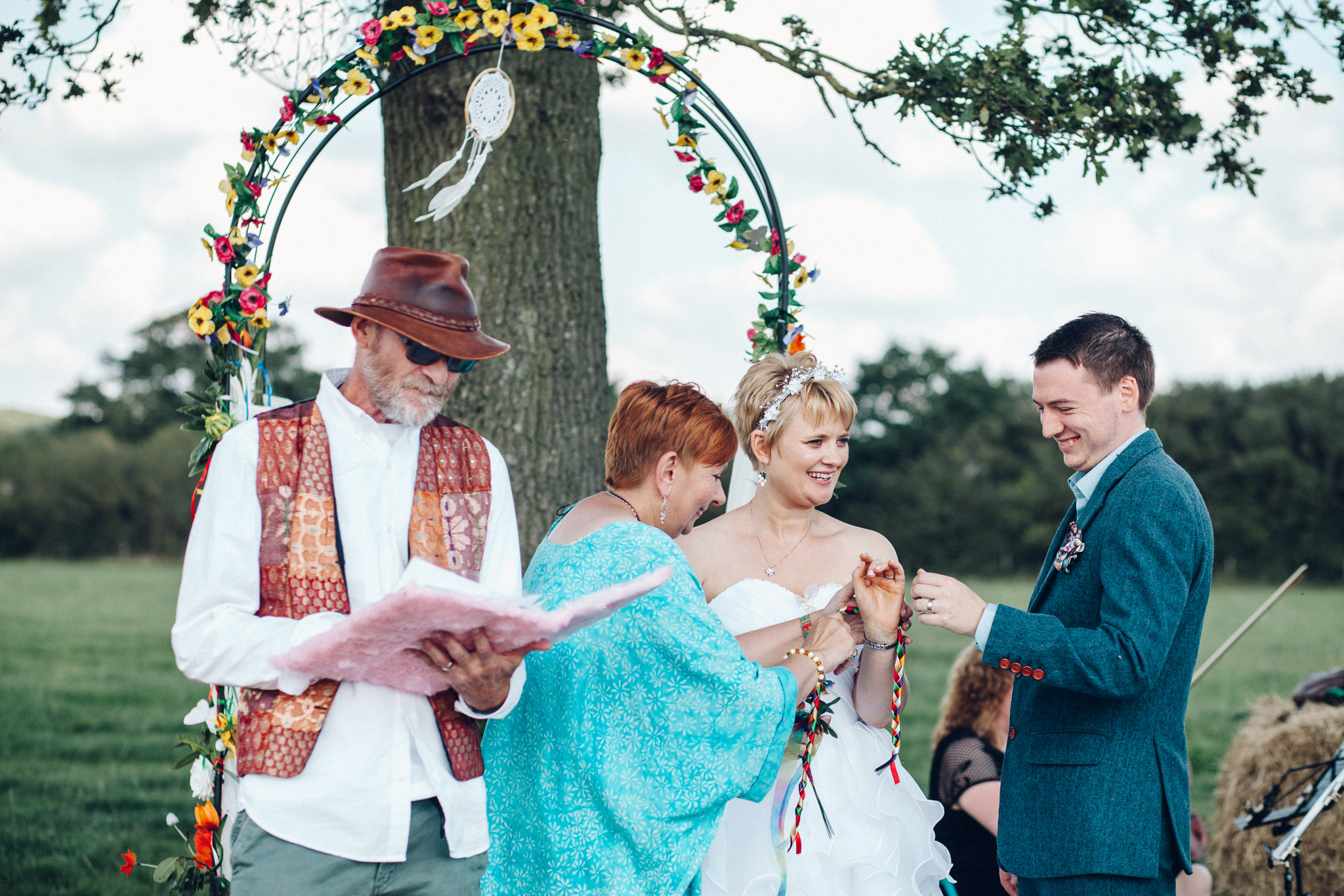 Humanist ceremony Alternative Wedding Photography - I Do The Country Wed, Quainton