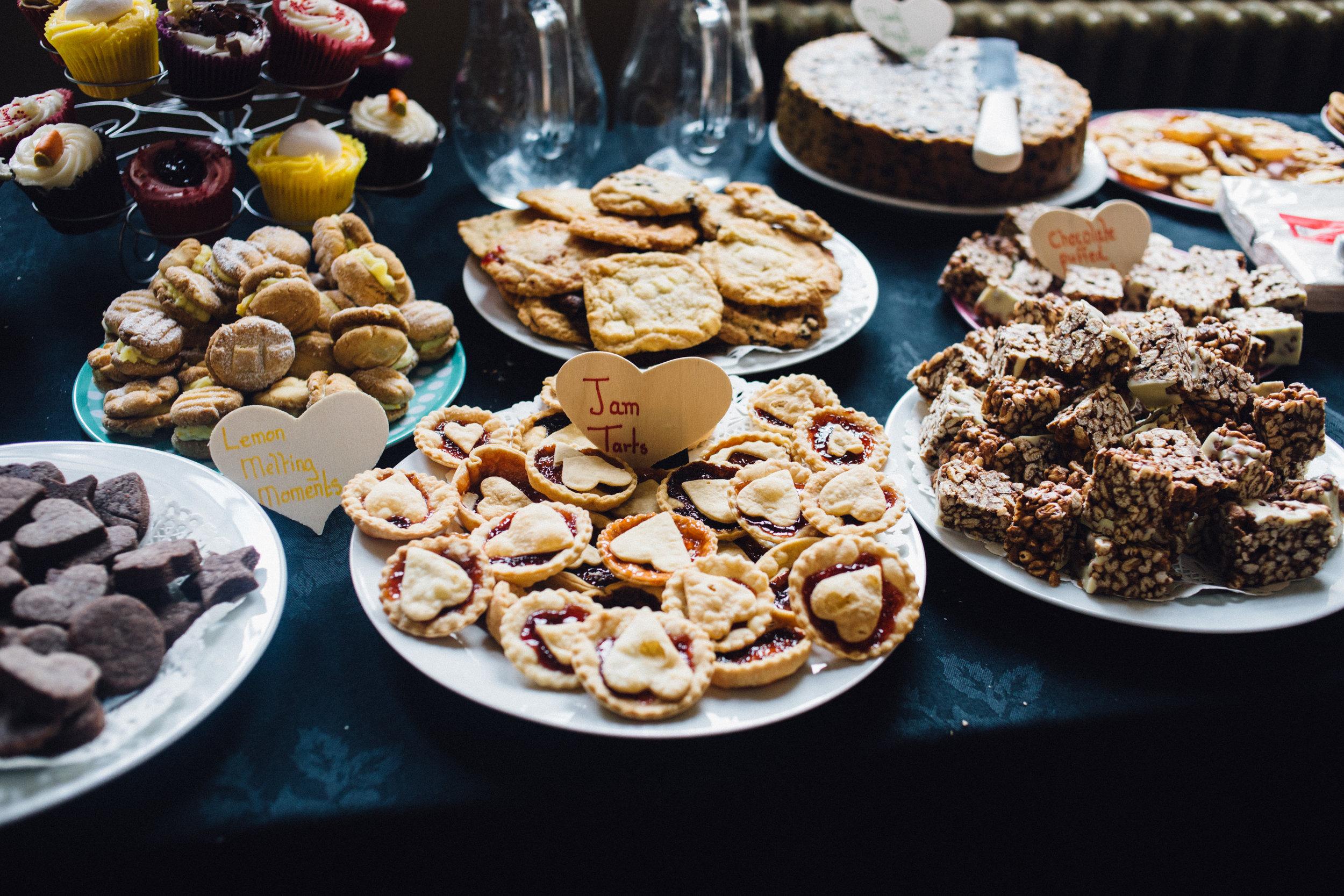 Alternative Wedding Food Ideas - Dessert Table