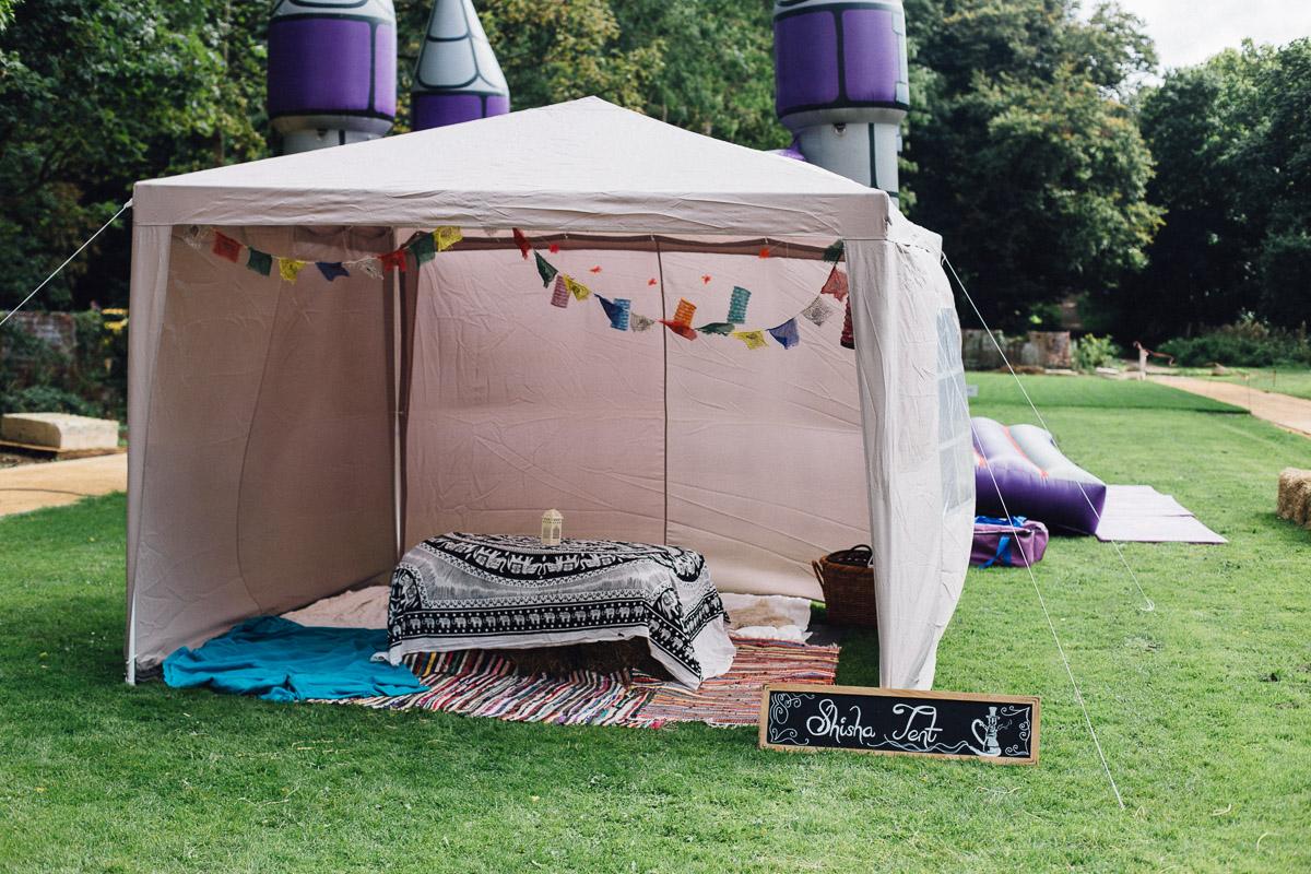 Wedding Shisha Tent Fun Alternative Wedding