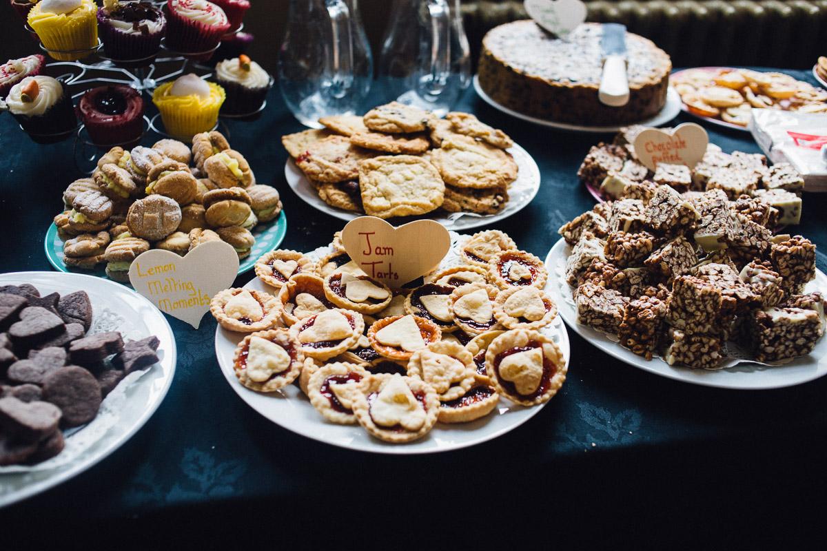 Alternative Wedding Dessert Cake Table