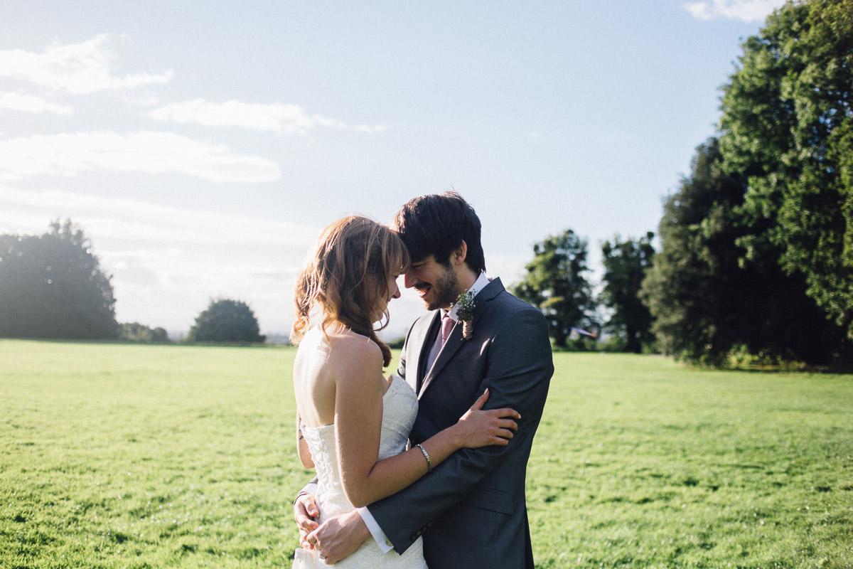 Couple Portraits in Field