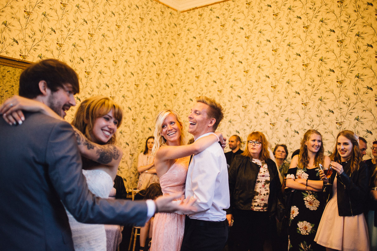 Guests Join First Dance