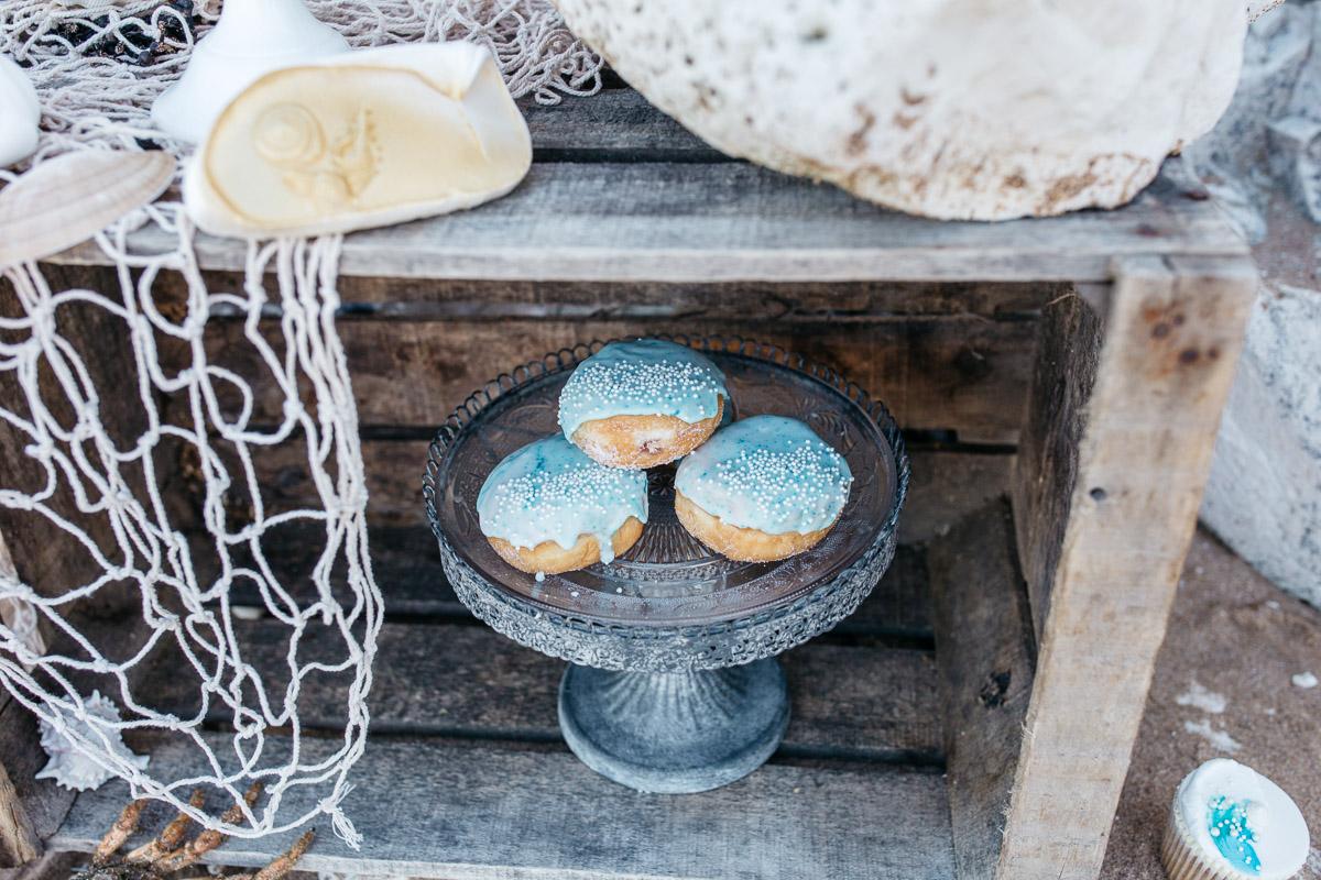 Disney Boho Beach Inspired Wedding Dessert Crate Doughnuts