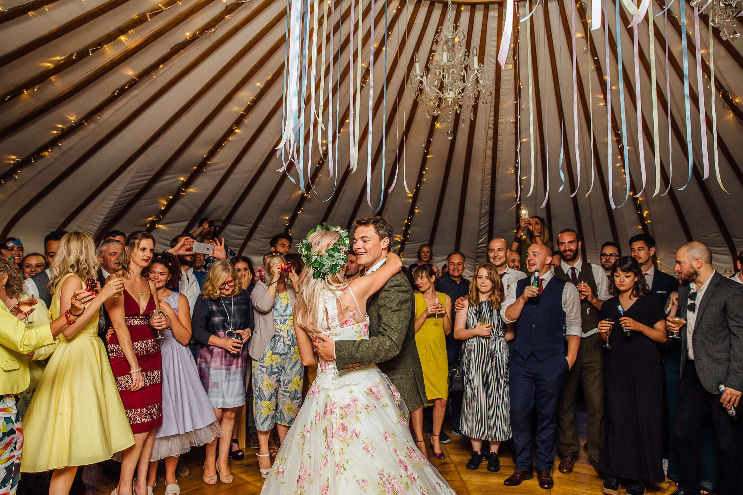 Festival wedding alternative first dance song ideas