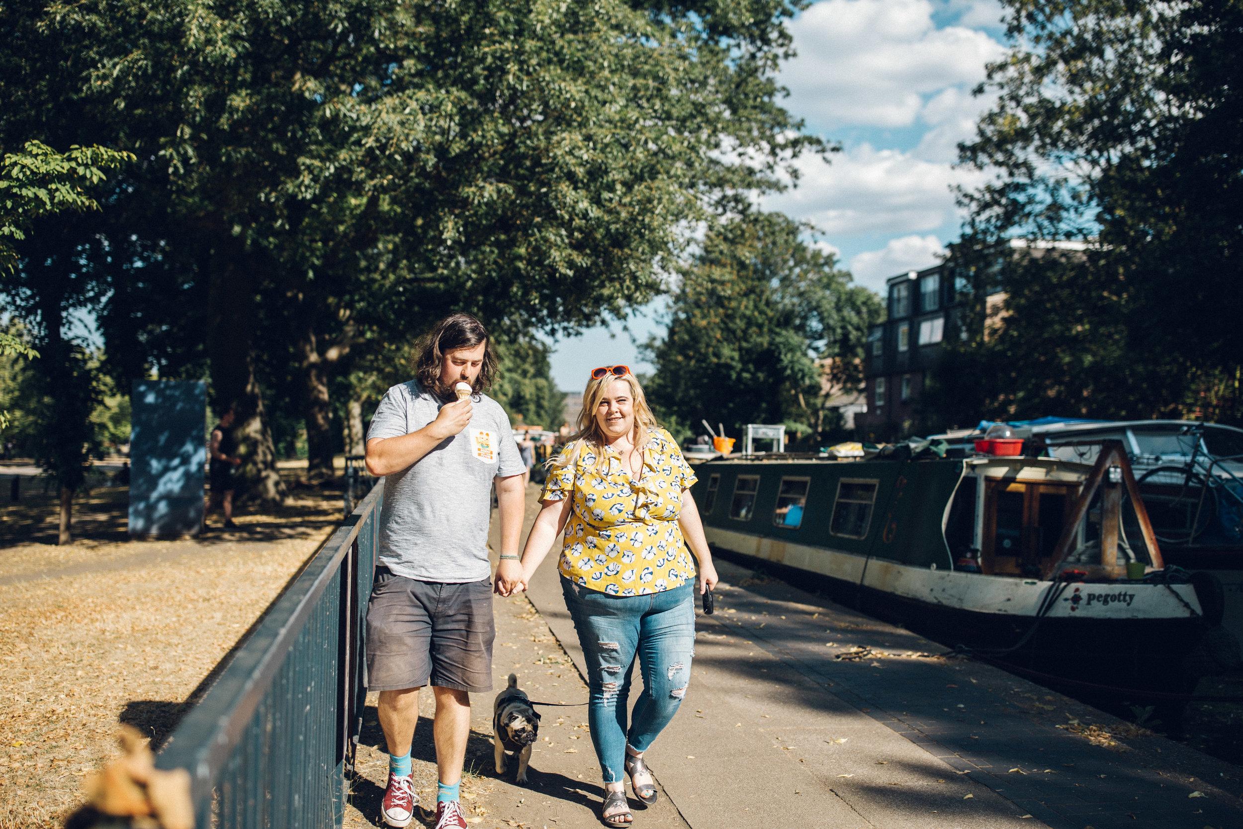 Hackney Engagement Shoot