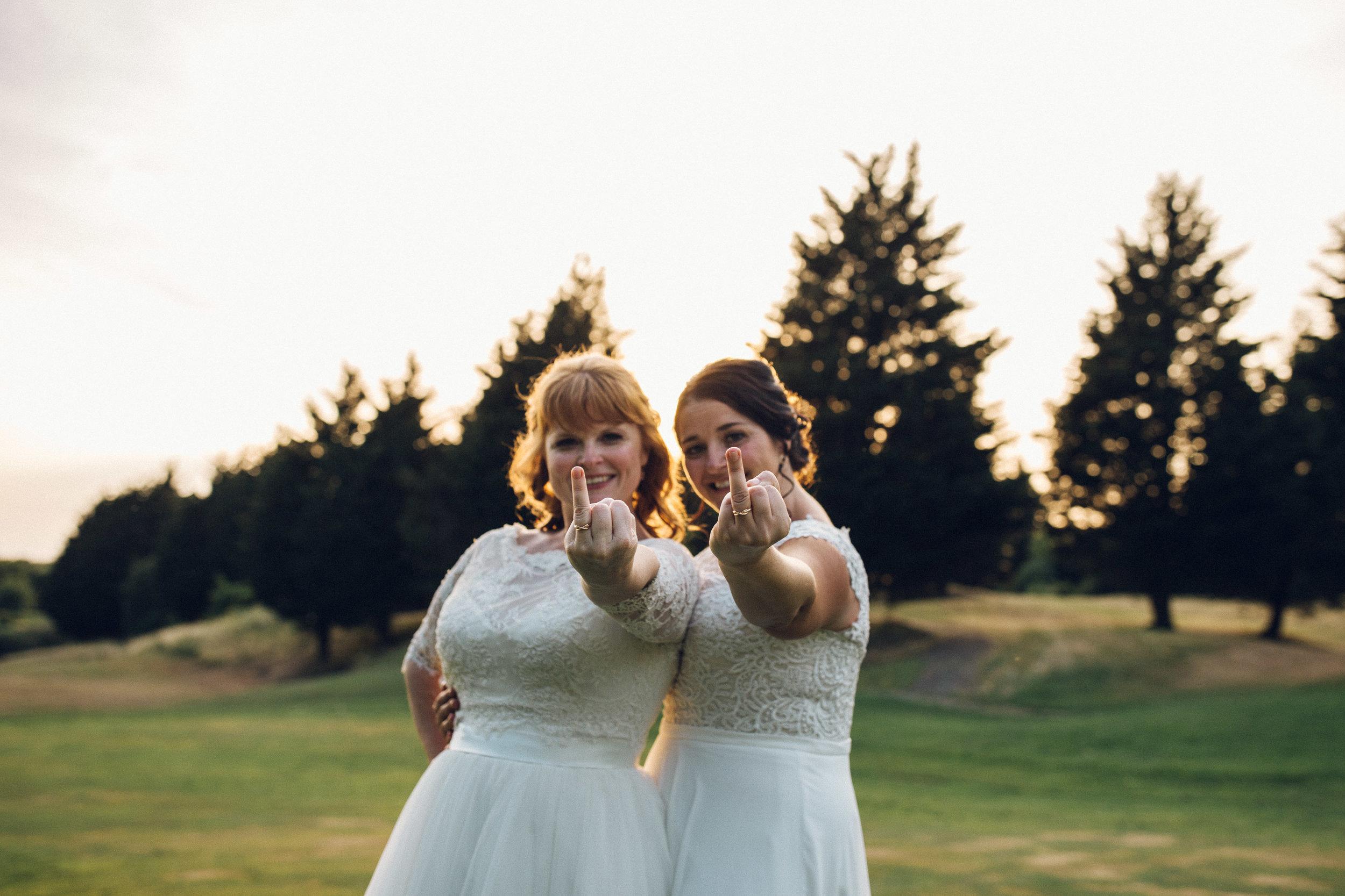 Same Sex Lesbian Wedding Essex