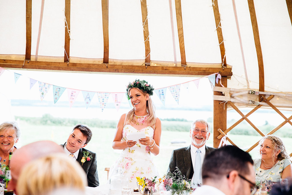 Village Fete Yurt Wedding Bridal Speech 2019 Wedding Trend