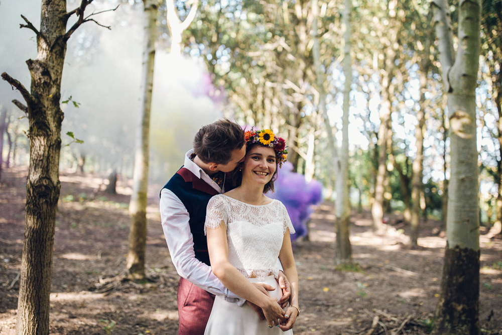 Boho Woodland Tipi Festival Wedding Braintree Essex Quirky Alternative Photography
