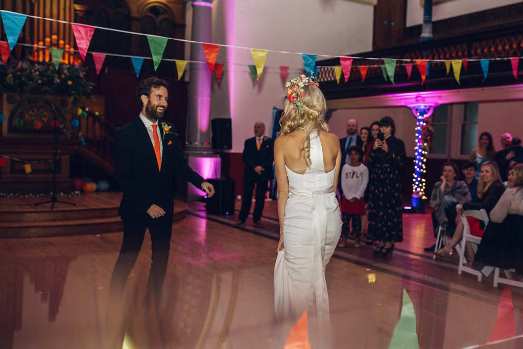 Alternative First Dance Song Ideas Hackney Round Chapel Wedding Indie Rock