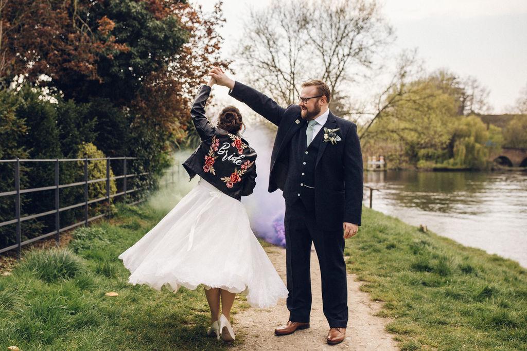 Smoke Bomb Wedding Photo Ideas - Alternative Photography Chloe Lee PhotoAlternative Wedding Photography London & Essex