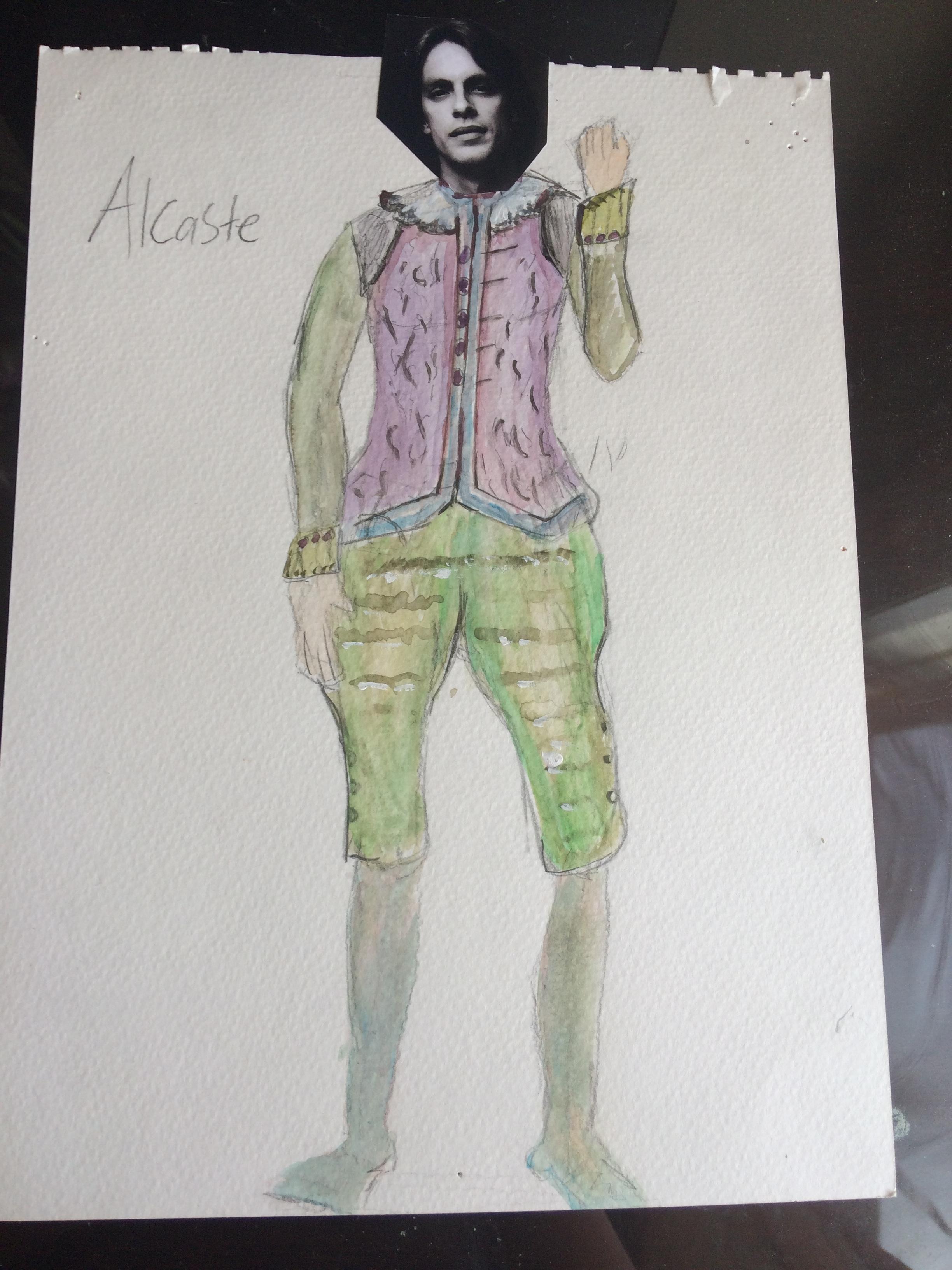 The Misanthrope- Alcaste