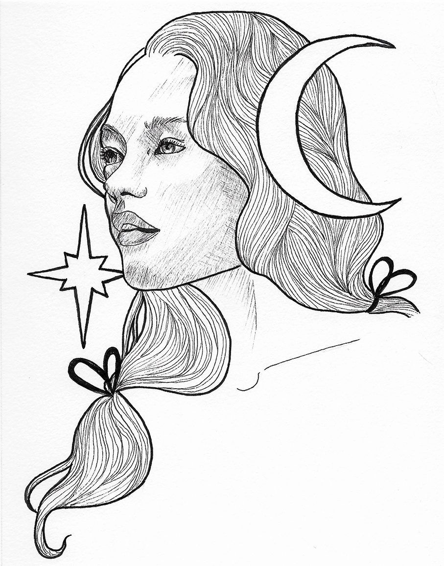 Witchy lady with moon and star 2.jpg