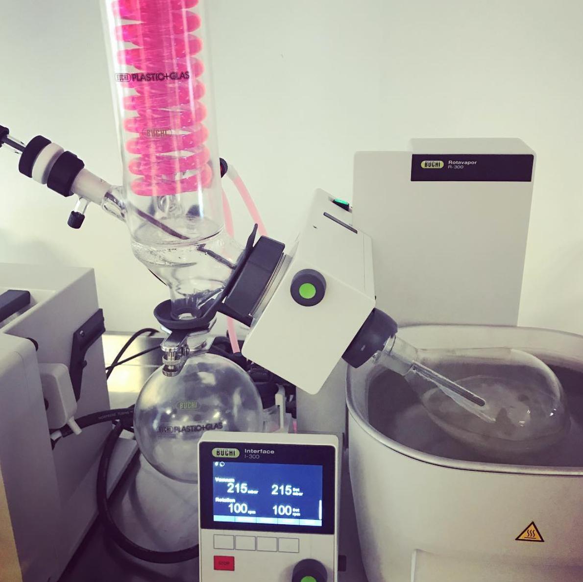 Crucible's mad scientist laboratory