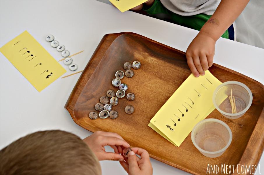 montessori-music-theory-game-activity-for-kids-preschool-rhythms-6.JPG