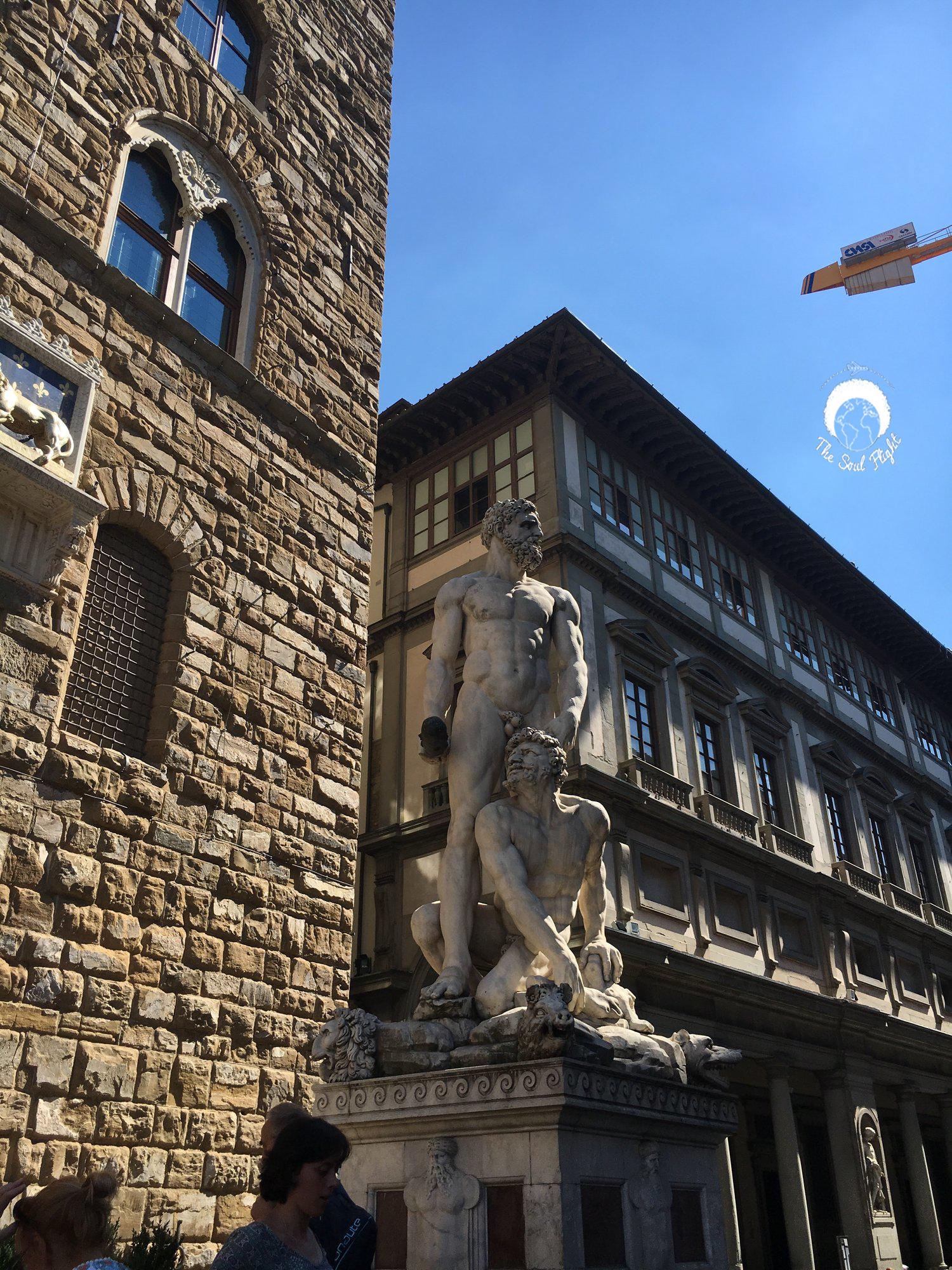 Famous outside Uffizi Gallery