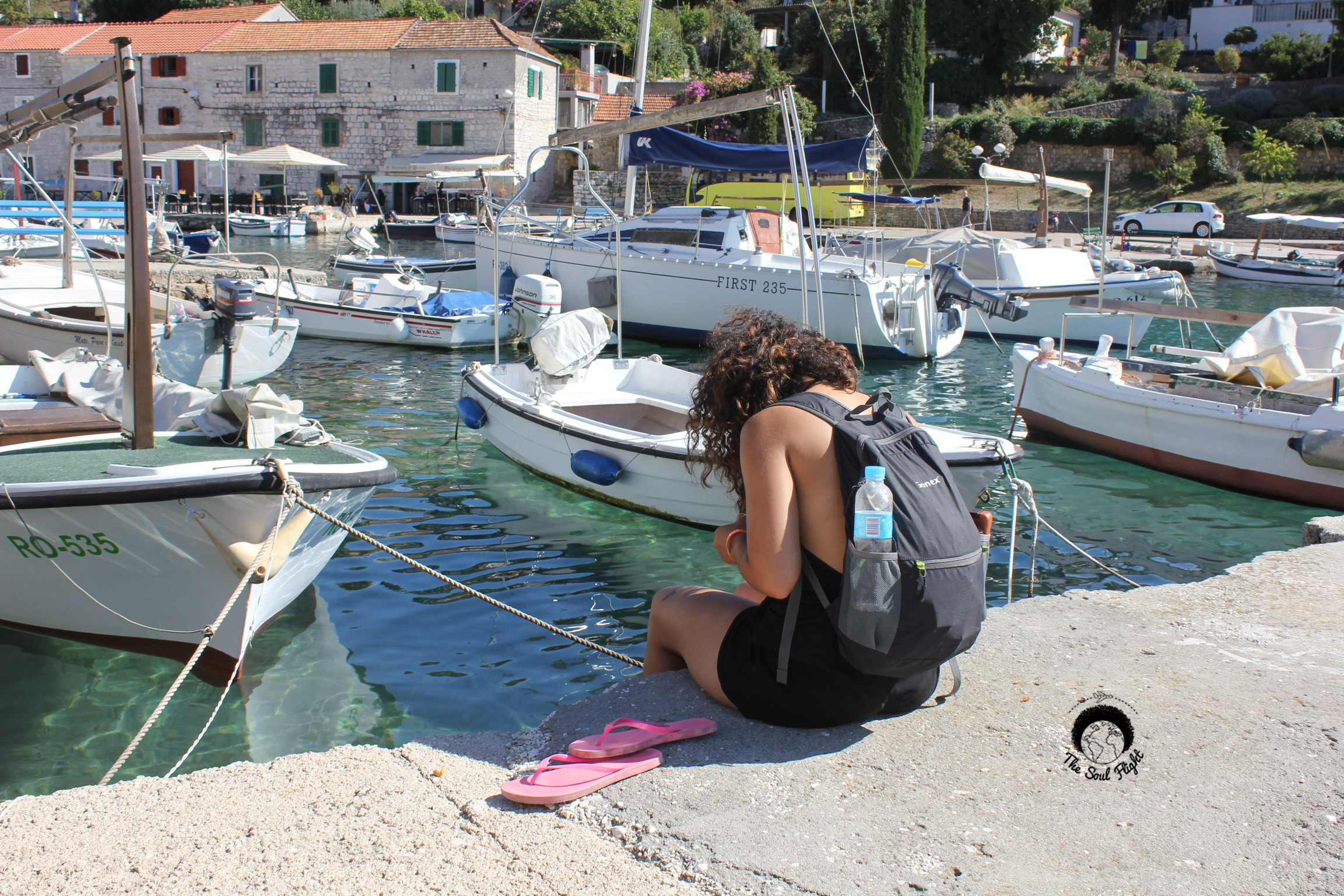 Photo by Shelby Halpin - Contemplating the fear - Split, Croatia